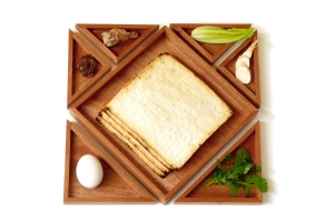 ever changing Seder plate