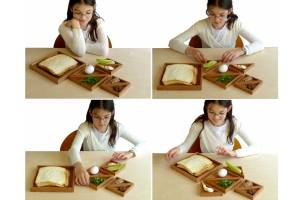 Promise- all kids will stay awake till Afikoman time with this fun and cool Seder plate