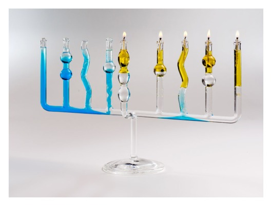 connected vessels Menorah